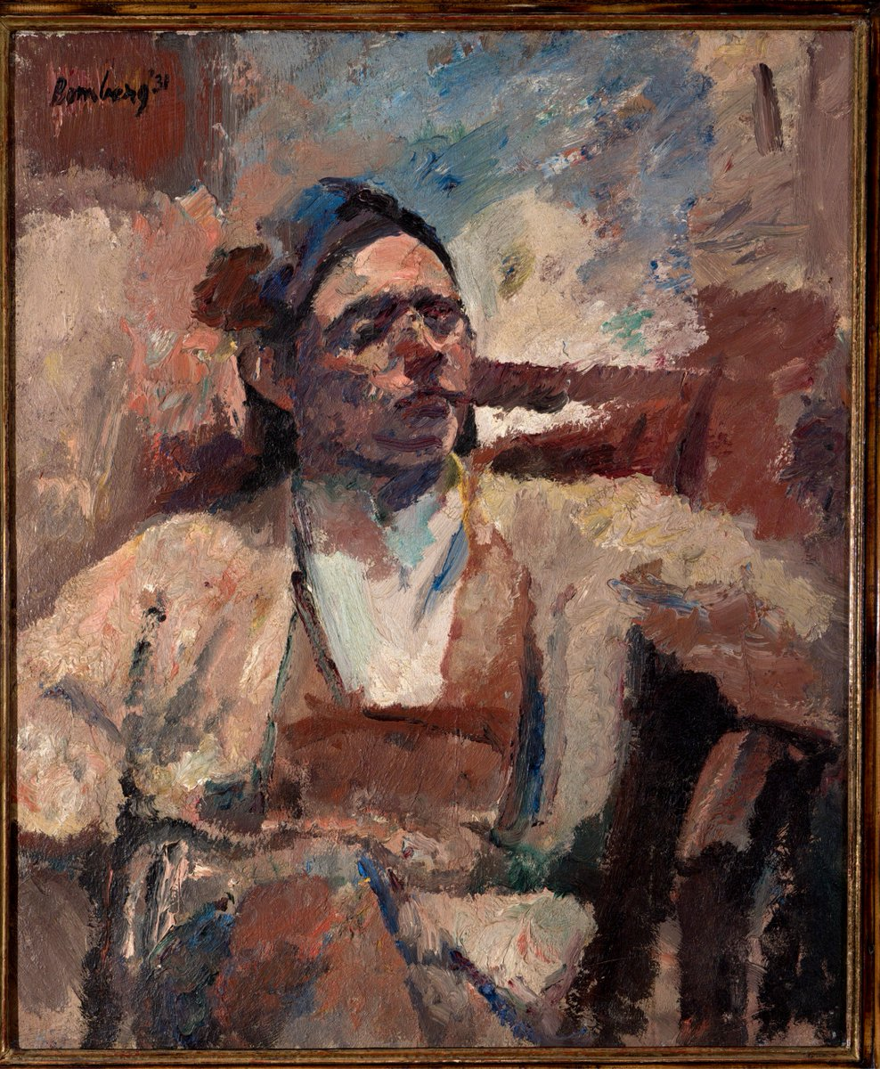 3 days to go until #BenUri's major #DavidBomberg #exhibition featuring some 40 remarkable works, including a number never before exhibited in London! The opening #PrivateView will be from 6:30pm, Thurs. 21 June at #BenUri. © The estate of David Bomberg, the Bridgeman Art Gallery