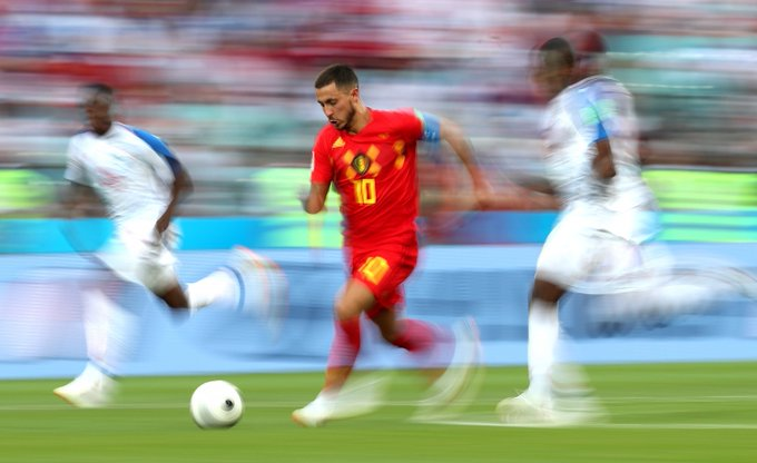8⃣ assists 8⃣ goals Eden Hazard has been involved in 16 goals in his last 15 games for #BEL The captain always puts in a shift. #WorldCup Photo