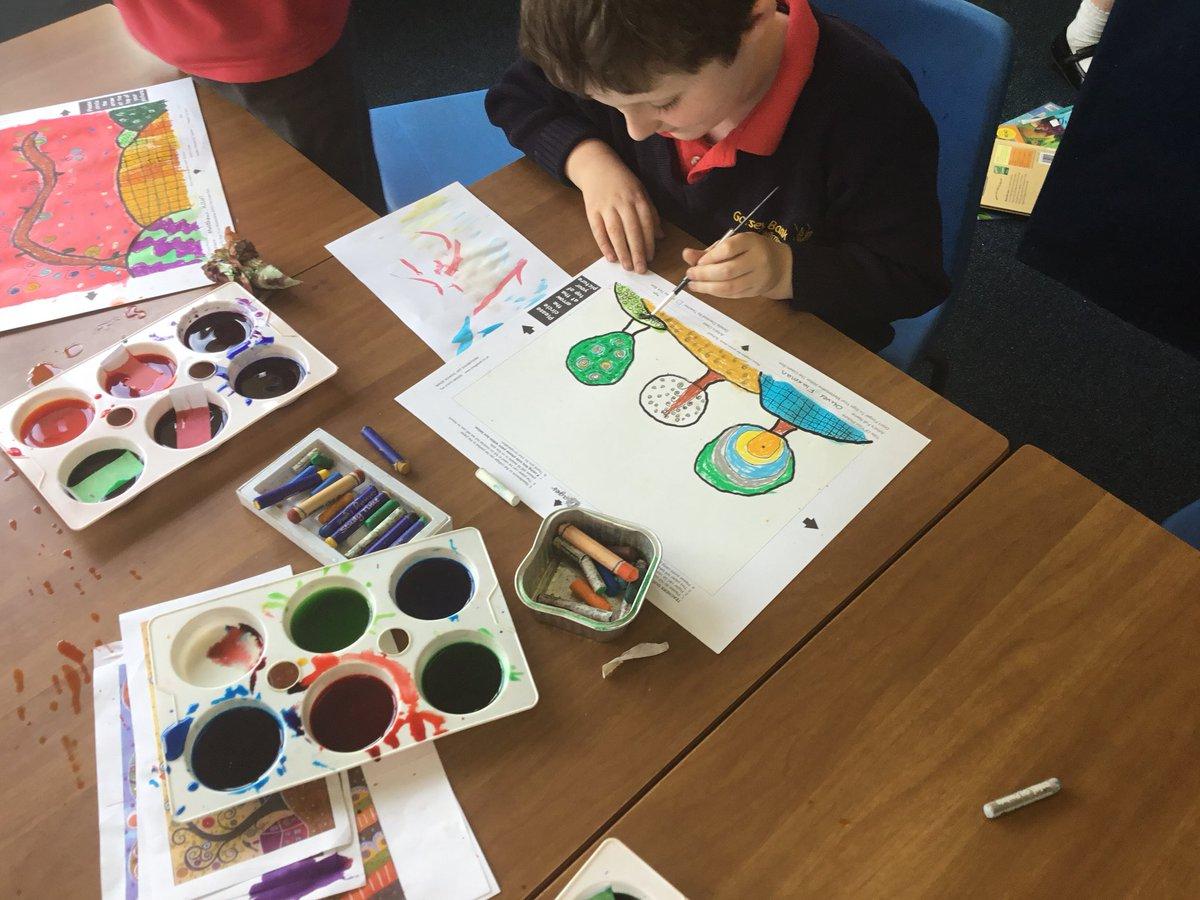 "test Twitter Media - Using brusho to paint our backgrounds ""I'm using bright colours, just like Karla Gerard"" #gorseyart #gorseyartsweek https://t.co/VX8fq50Ilr"