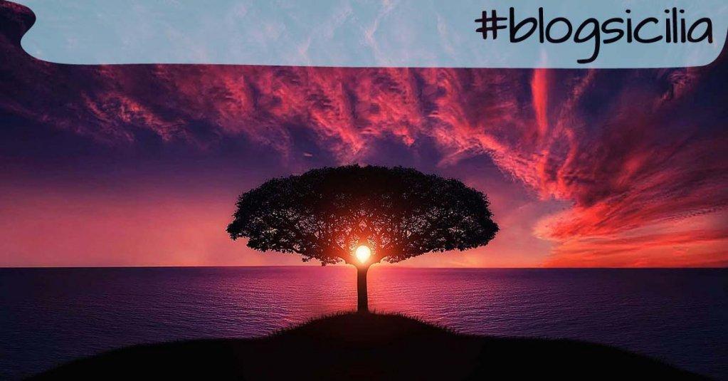 """#blogsicilia """"Ognuno sta solo sul cuor della terra trafitto da un raggio di sole: ed è subito sera"""". S. Quasimodo"""
