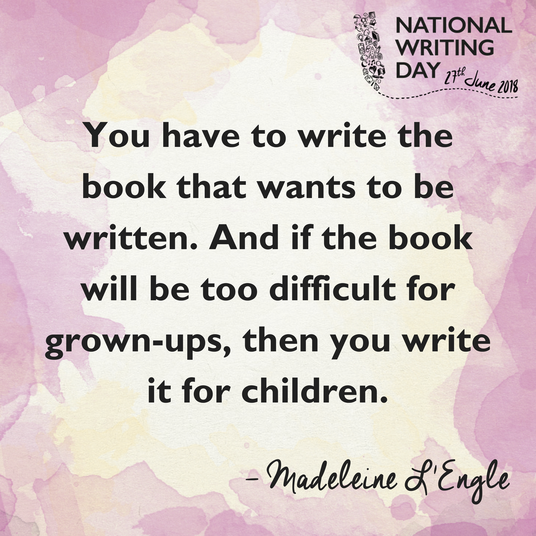 National Writing Day on Twitter:
