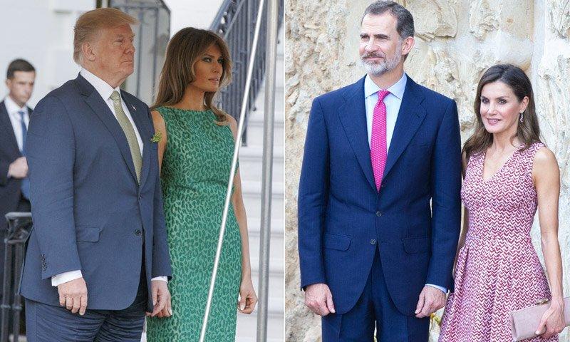 ¡Empieza la cuenta atrás! ¿Cómo va a ser el encuentro de los Reyes con los Trump? https://t.co/mnH9BGa1us