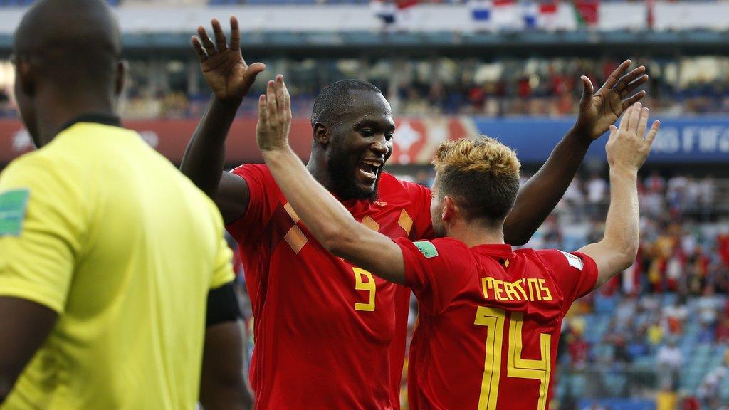 Les #Diablesrouges débutent le Mondial en grande pompe https://t.co/kL1oeDFQOH #redtogether @RomeluLukaku9 #Lukaku #Mertens