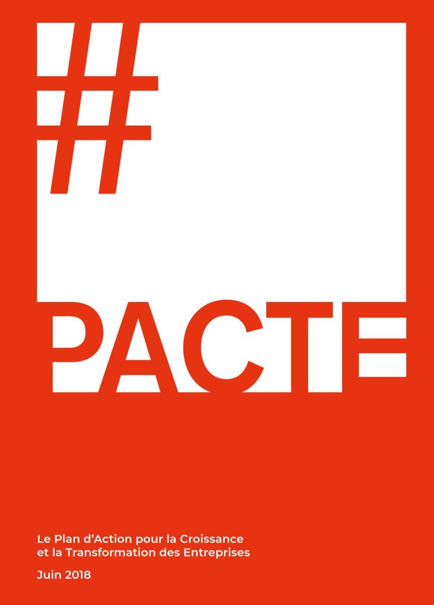 🔵 Le projet de loi 'Plan d'action pour la croissance et la transformation des entreprises' #PACTE a été présenté cet après-midi en conseil des ministres  Découvrez l'essentiel de ce projet de loi ➡️ https://t.co/rEugLtpQEJ
