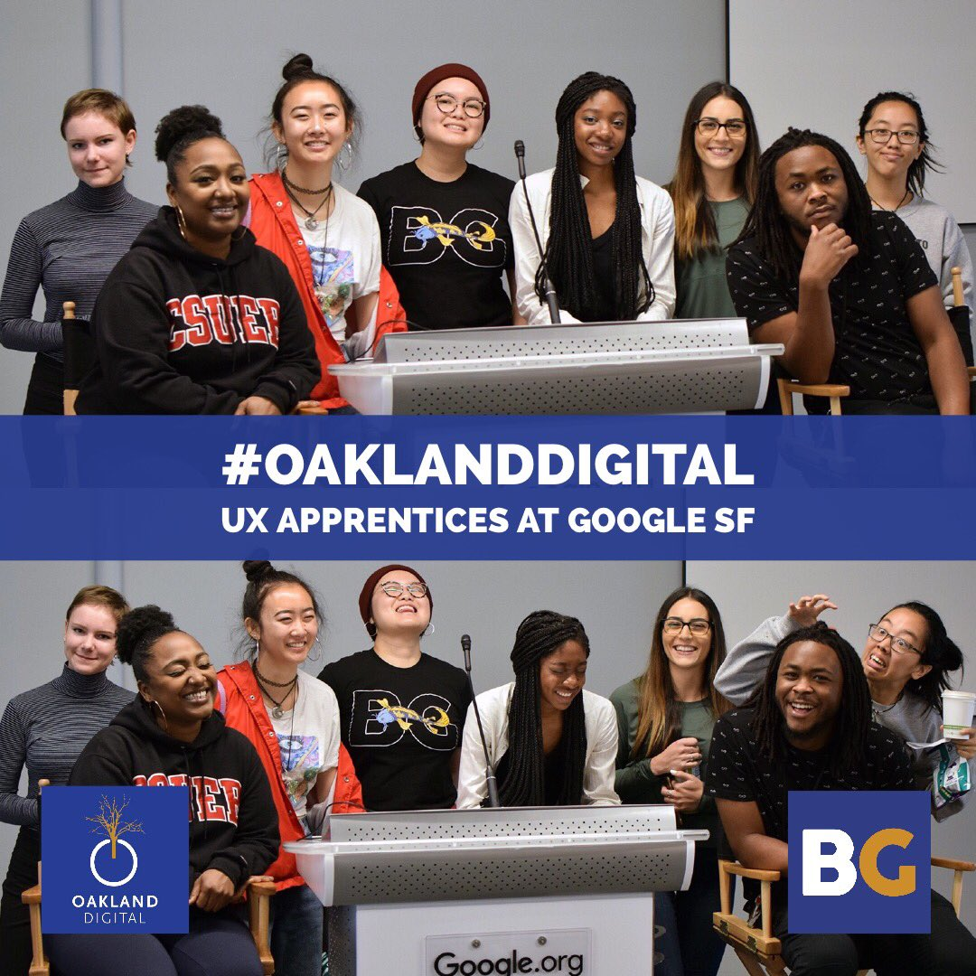 """""""Surround yourself with people who take their work seriously, but not themselves, those who work hard and play hard"""" -@ColinPowellCCNY #UX #apprenticeship at @google! #learntolaugh Off to a great start this summer!<br>http://pic.twitter.com/e0WJSUOGAt &ndash; à Google SF - Makerspace"""