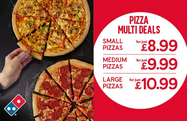 Dominos Southampton On Twitter Multiple Pizzas For