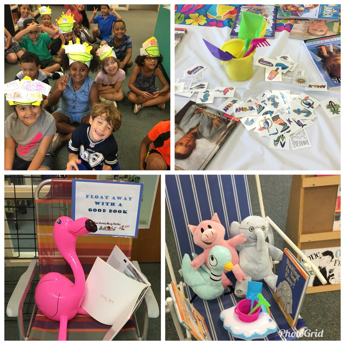 Barcroft's last RIF distribution of the year with the theme FLOAT Away With a GOOD BOOK! <a target='_blank' href='http://search.twitter.com/search?q=BarcroftSoars'><a target='_blank' href='https://twitter.com/hashtag/BarcroftSoars?src=hash'>#BarcroftSoars</a></a> <a target='_blank' href='http://twitter.com/APSVirginia'>@APSVirginia</a> <a target='_blank' href='http://twitter.com/RIFWEB'>@RIFWEB</a> <a target='_blank' href='http://twitter.com/MrsBlackatDrew'>@MrsBlackatDrew</a> <a target='_blank' href='http://twitter.com/APSLibrarians'>@APSLibrarians</a> <a target='_blank' href='http://twitter.com/APL_Jayla'>@APL_Jayla</a> <a target='_blank' href='http://twitter.com/teachnpe'>@teachnpe</a> <a target='_blank' href='http://twitter.com/ddcoggins'>@ddcoggins</a> <a target='_blank' href='http://twitter.com/MissWelsh_APS'>@MissWelsh_APS</a> <a target='_blank' href='https://t.co/OW1TQfRGGJ'>https://t.co/OW1TQfRGGJ</a>