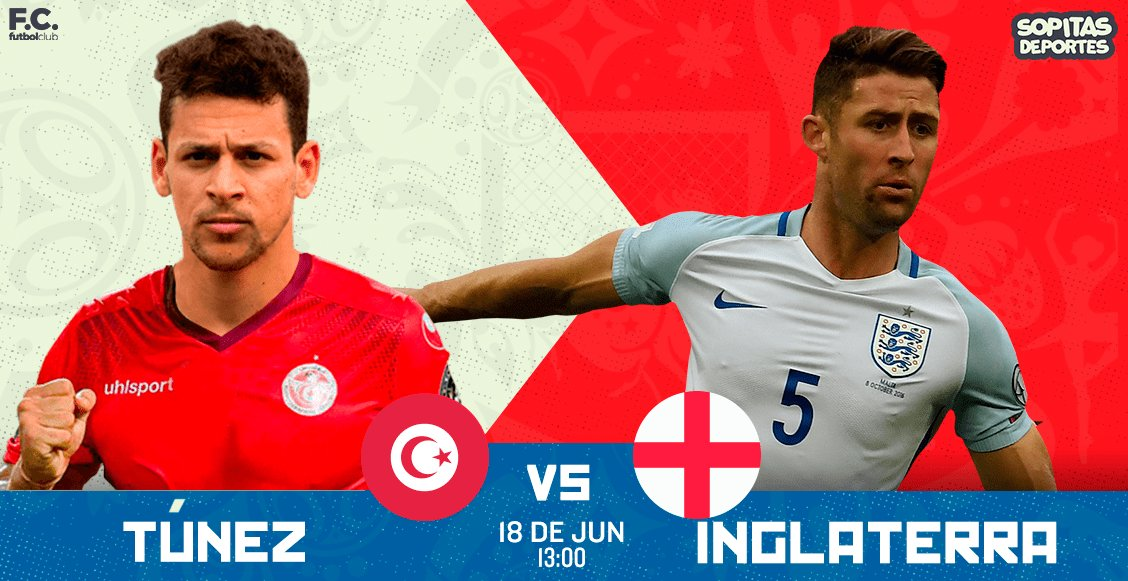 ¡Ya está por empezar! Te decimos cómo seguir el Túnez vs Inglaterra https://t.co/t4huHoTwD4 https://t.co/u5G8We68ih