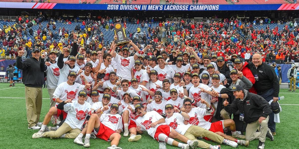 test Twitter Media - On May 27, @Wes_Lacrosse won its first @NCAA Championship, defeating Salisbury University, 8–6 for the Division III title! Read our Q&A with Coach Raba (@weslax): https://t.co/v3eG2FRPrx  #Champions #RollCards #CardinalPride https://t.co/iI6las9uqe