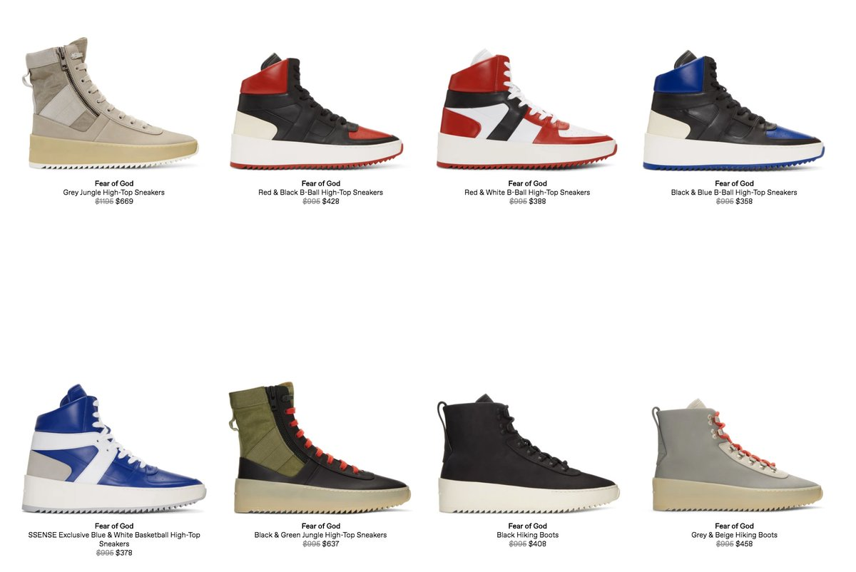 fear of god hiking boots where to buy