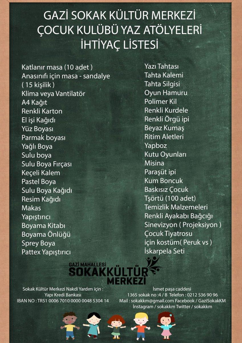 Sokak Kultur Merkezi A Twitteren Cocuk Kulubu Yaz Atolyeleri 16