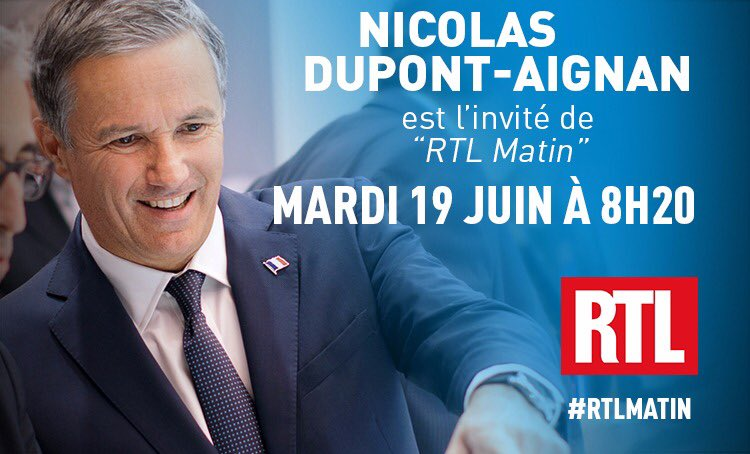 🎙Demain à 8h20, retrouvez-moi dans #RTLMatin au micro d'Yves Calvi sur @RTLFrance