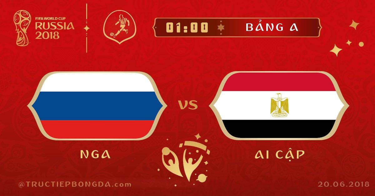 Nga vs Ai Cập
