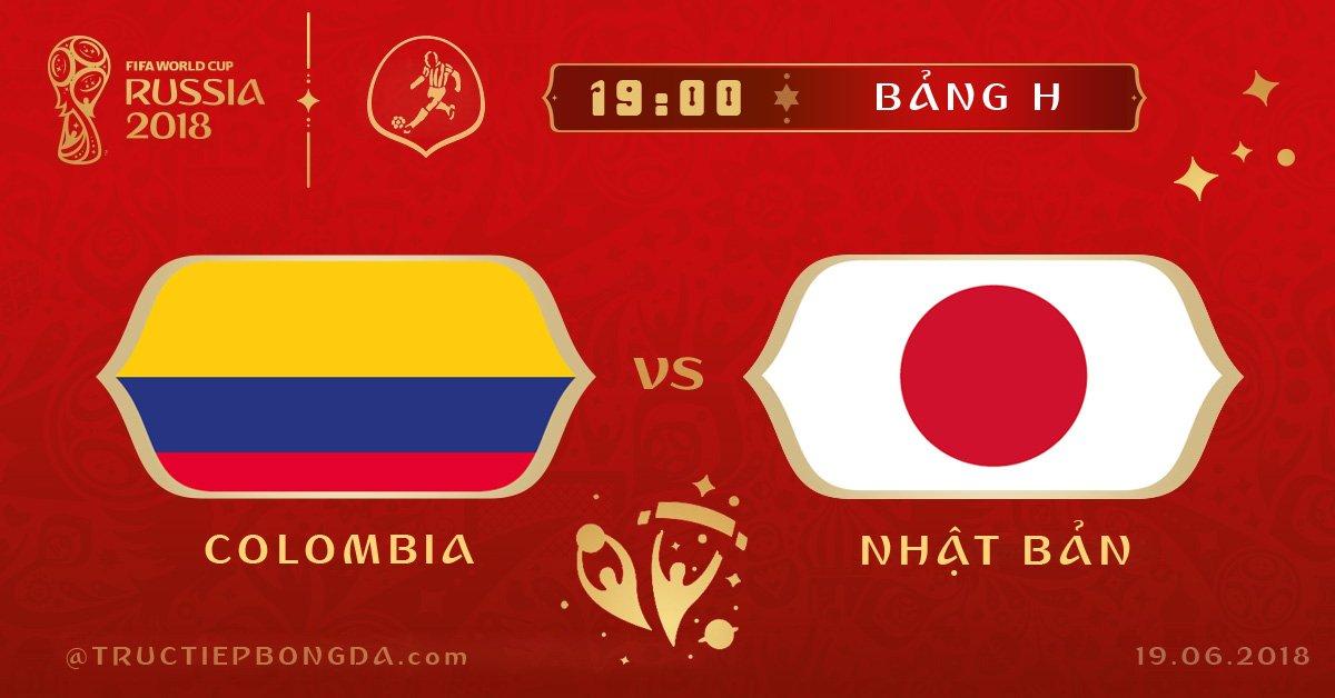 Colombia vs Nhật Bản