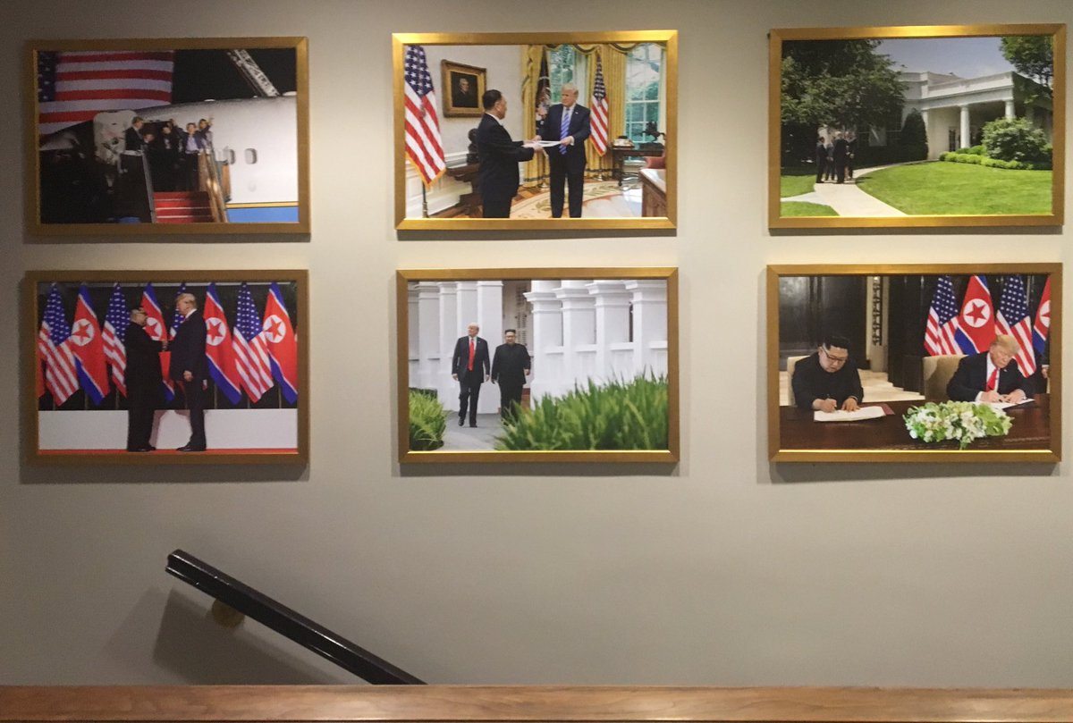 "michael c. bender on twitter: ""pictures of president trump and kim"