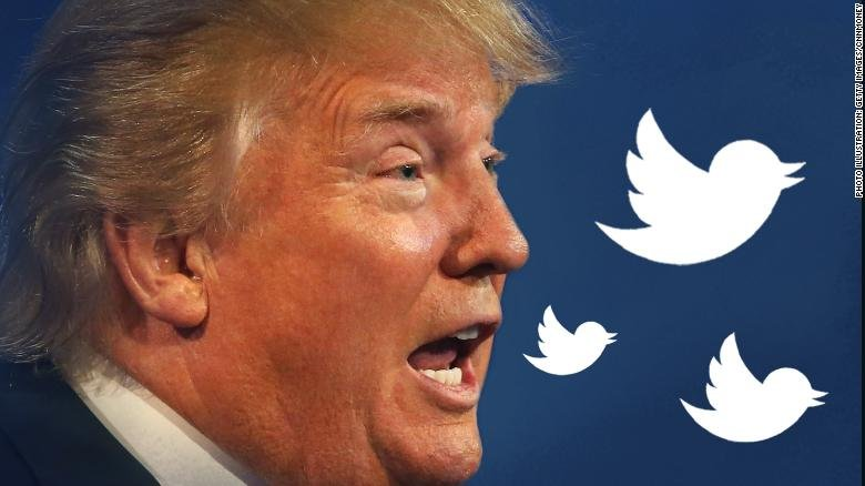 Donald Trump's Twitter feed is getting more and more bizarre | Analysis by @CillizzaCNN https://t.co/3fq4omCwE3 https://t.co/AOsmnIc5ar