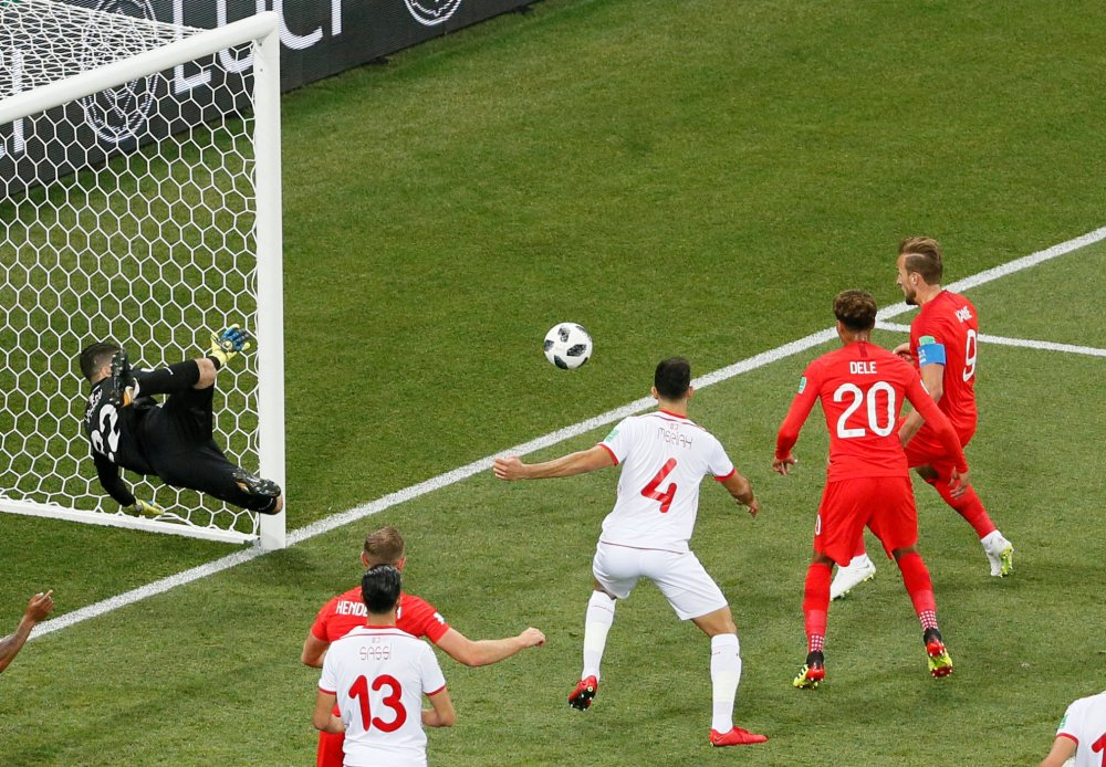 #Tunisia fight back to go in 1-1 with #England at break #Russia2018WorldCup #WorldCup #ENGTUN