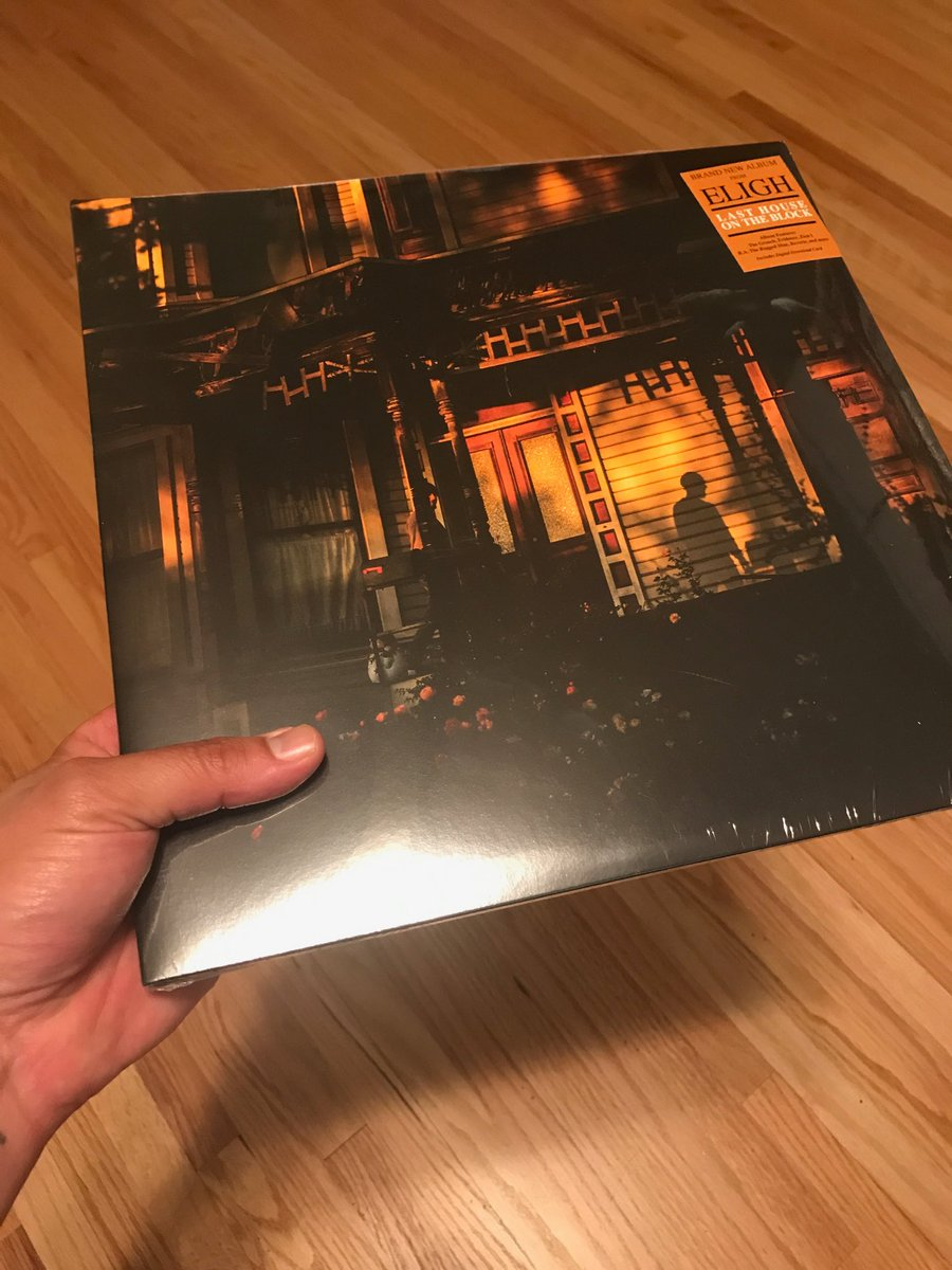 just copped the new @Eligh. Last House On The Block