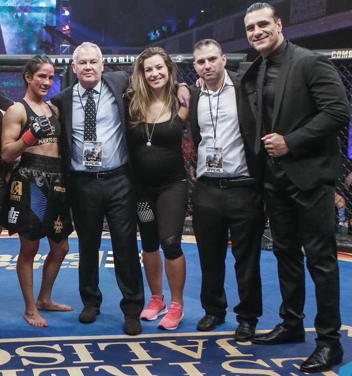 I want to wish my boss @campbellcombate a Very Happy & Healthy Birthday. He's next to me in this Photo Alongside the rest on my MMA promotional team @combateamericas @afromike76 @PrideOfMexico @MieshaTate