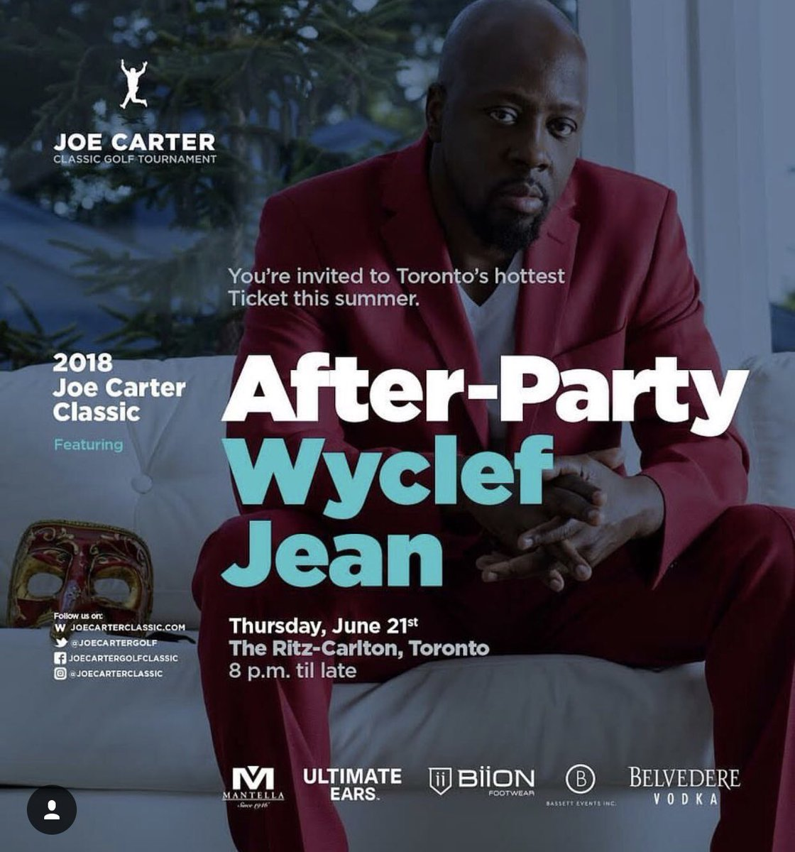 Looking forward to performing @JoeCarterGolf after party presented by @BiionFootwear @SylviaMantella on THURSDAY AT 8 PM @RitzCarlton <br>http://pic.twitter.com/7ae0yUAO3R