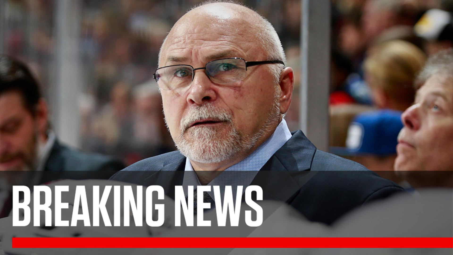 Breaking: Washington Capitals coach Barry Trotz has resigned, the team announced. https://t.co/UGEDEOXMuY