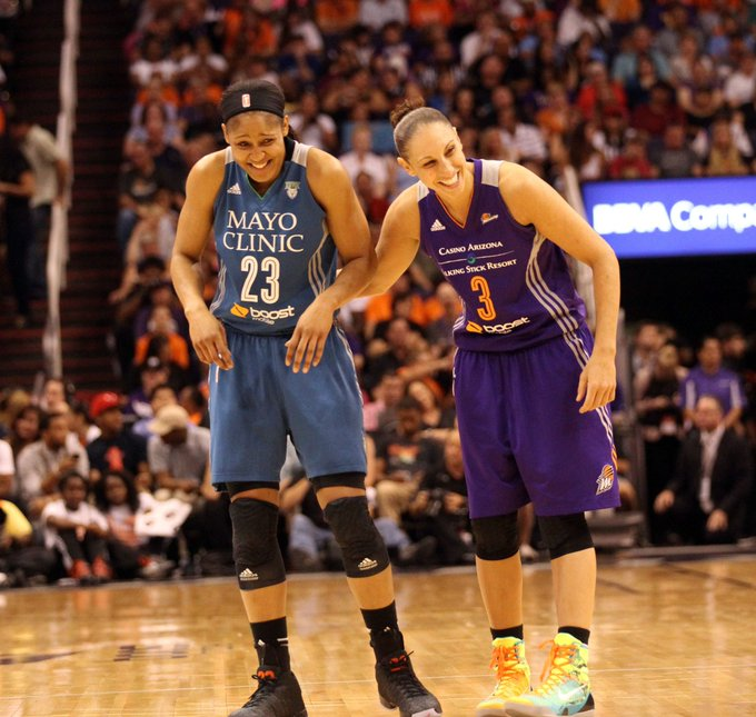 Happy birthday to Maya Moore and Diana Taurasi!