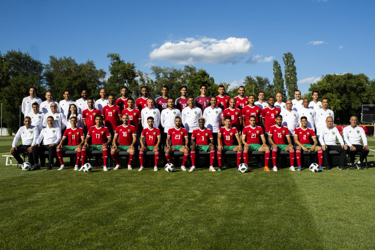 maroc on twitter photo officielle de l equipe nationale du maroc
