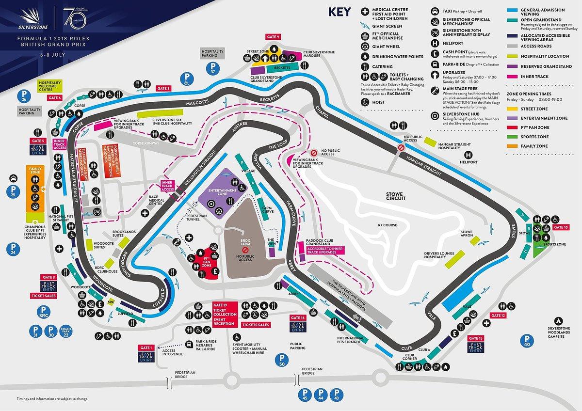 Map Of Silverstone Silverstone on Twitter:
