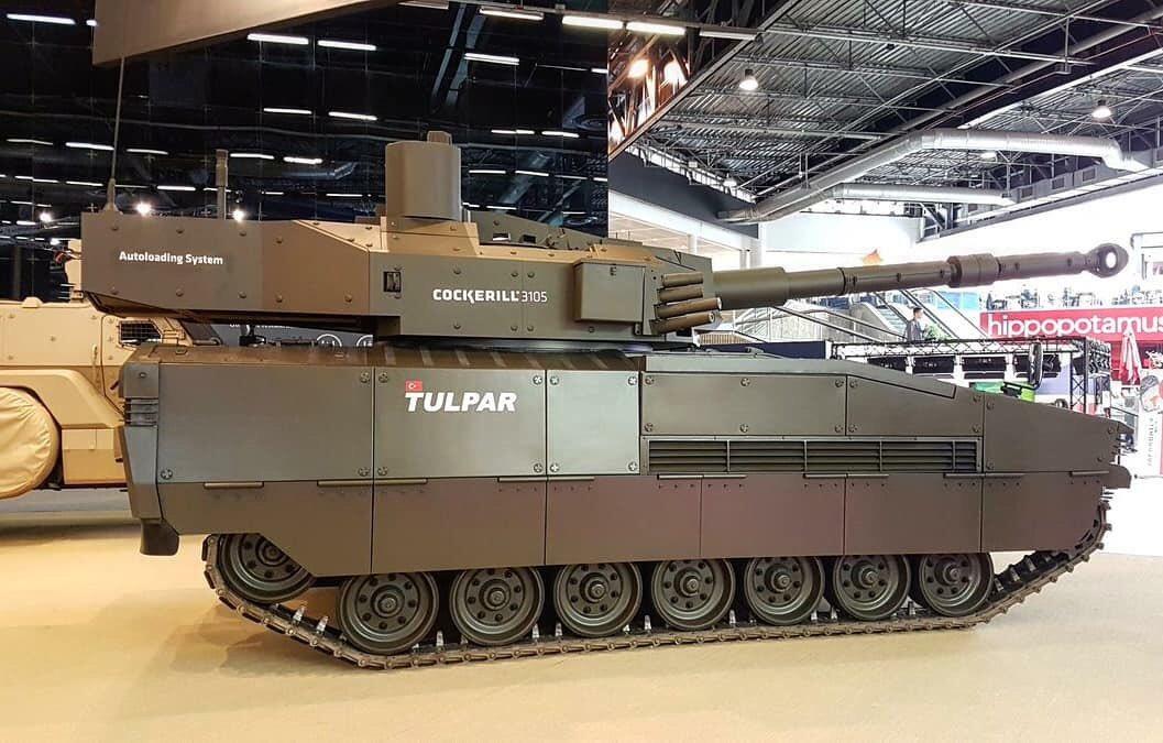 شركة Otokar التركيه تقدم الدبابه الخفيفه Tulpar  Dfa767RWAAADHYq
