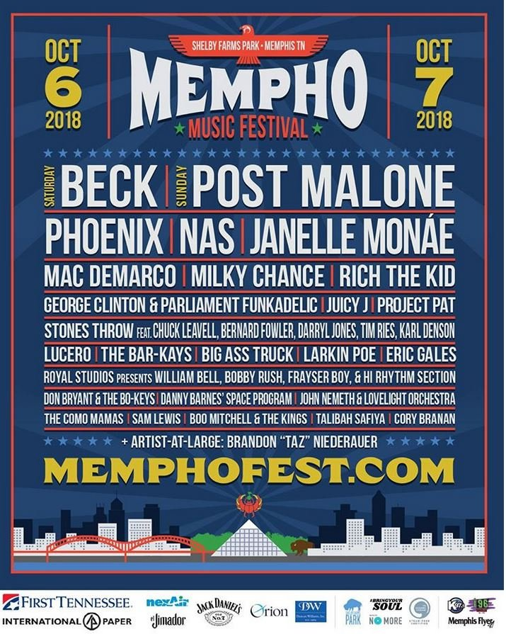 2nd Annual Mempho Music Fest Brings Big Names to Bluff City #wmc5 >> https://t.co/WlVe7bX9Ur