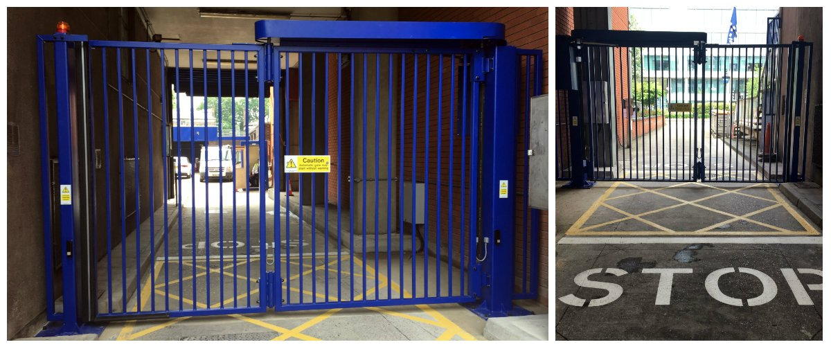 Security Solutions On Twitter Ssbf Bi Folding Gate Installation In