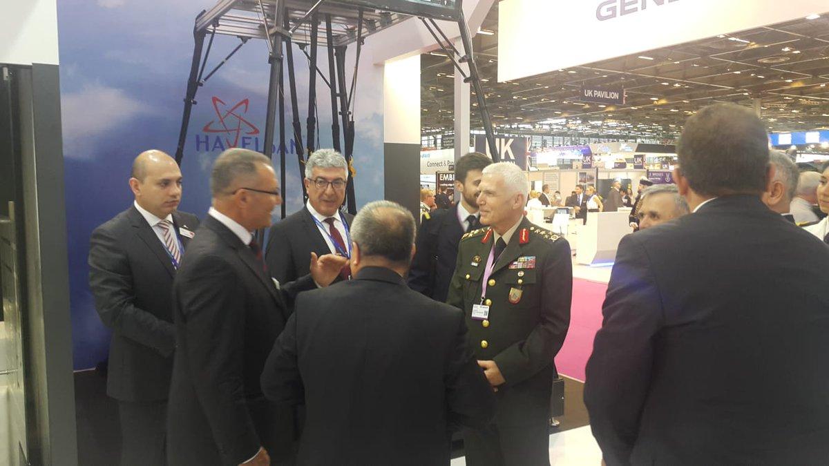 افتتاح معرض  Eurosatory 2018 الدولي للدفاع والأمن بباريس DfaQYZCWkAAngNZ