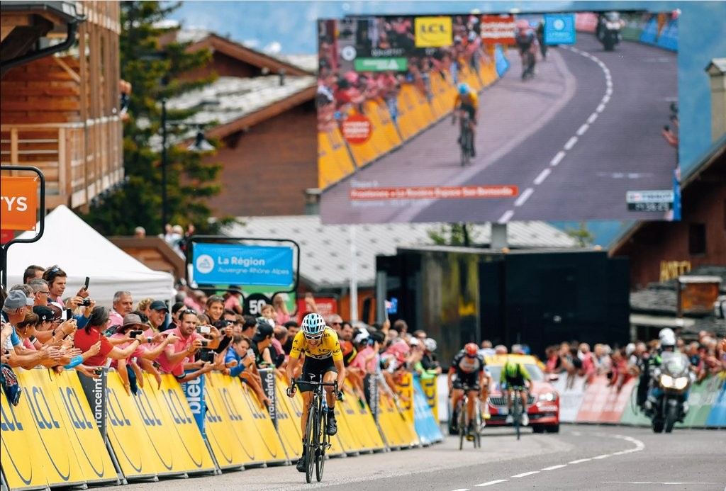 G on his way to his biggest road win of his career at the Criterium du Dauphine #MondayMotivation #RocketSports