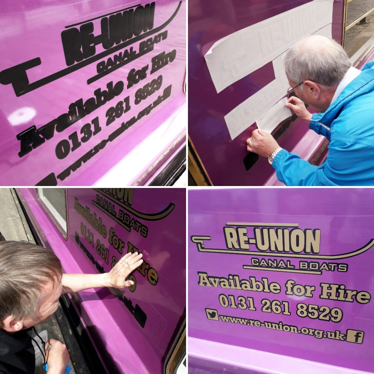 Re-Union Canal Boats on Twitter: