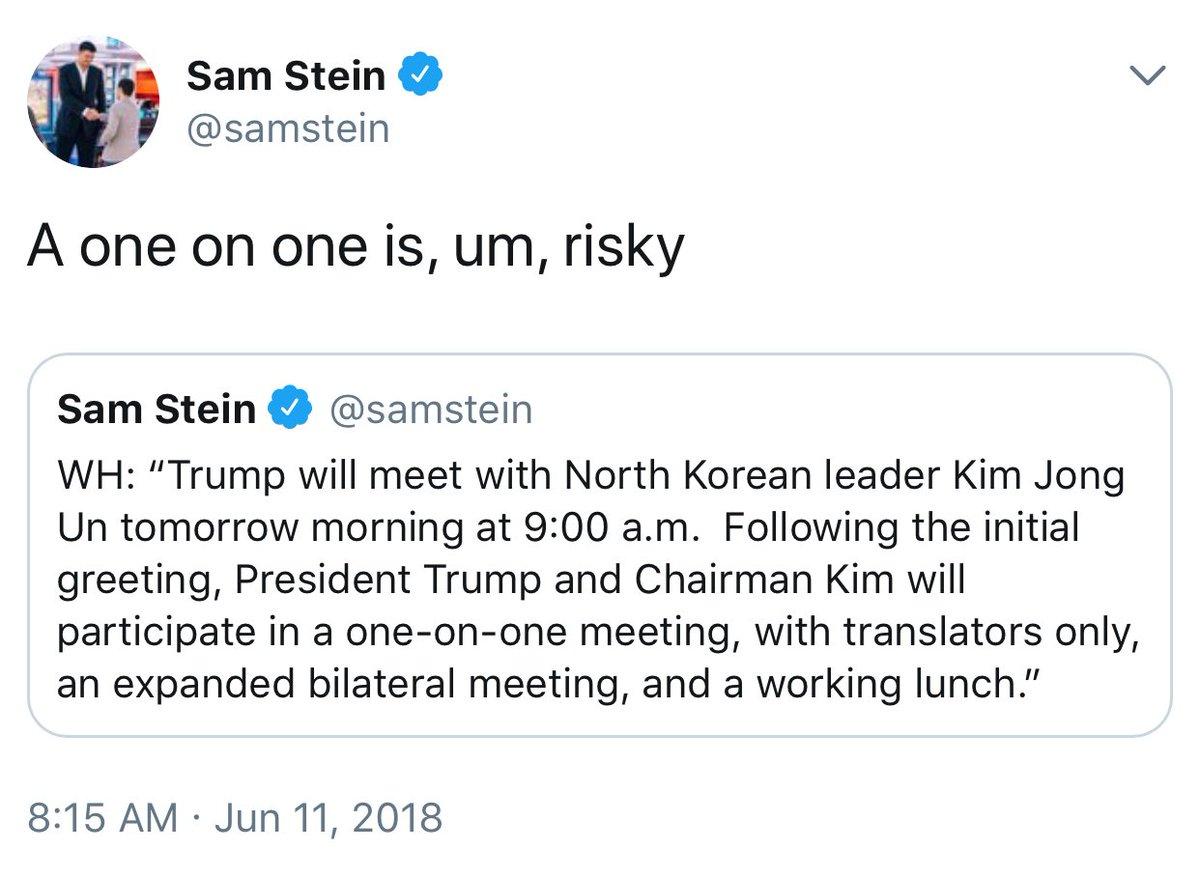 Sam Stein on Twitter:
