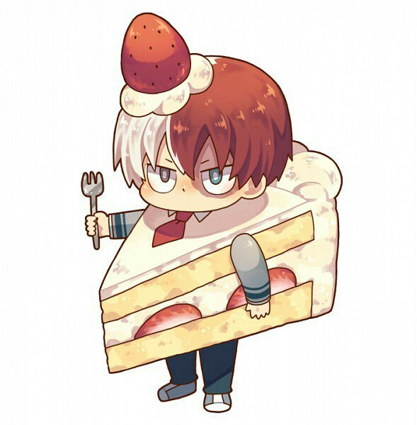 Shoto Todoroki On Twitter Who Wants A Cute Cake