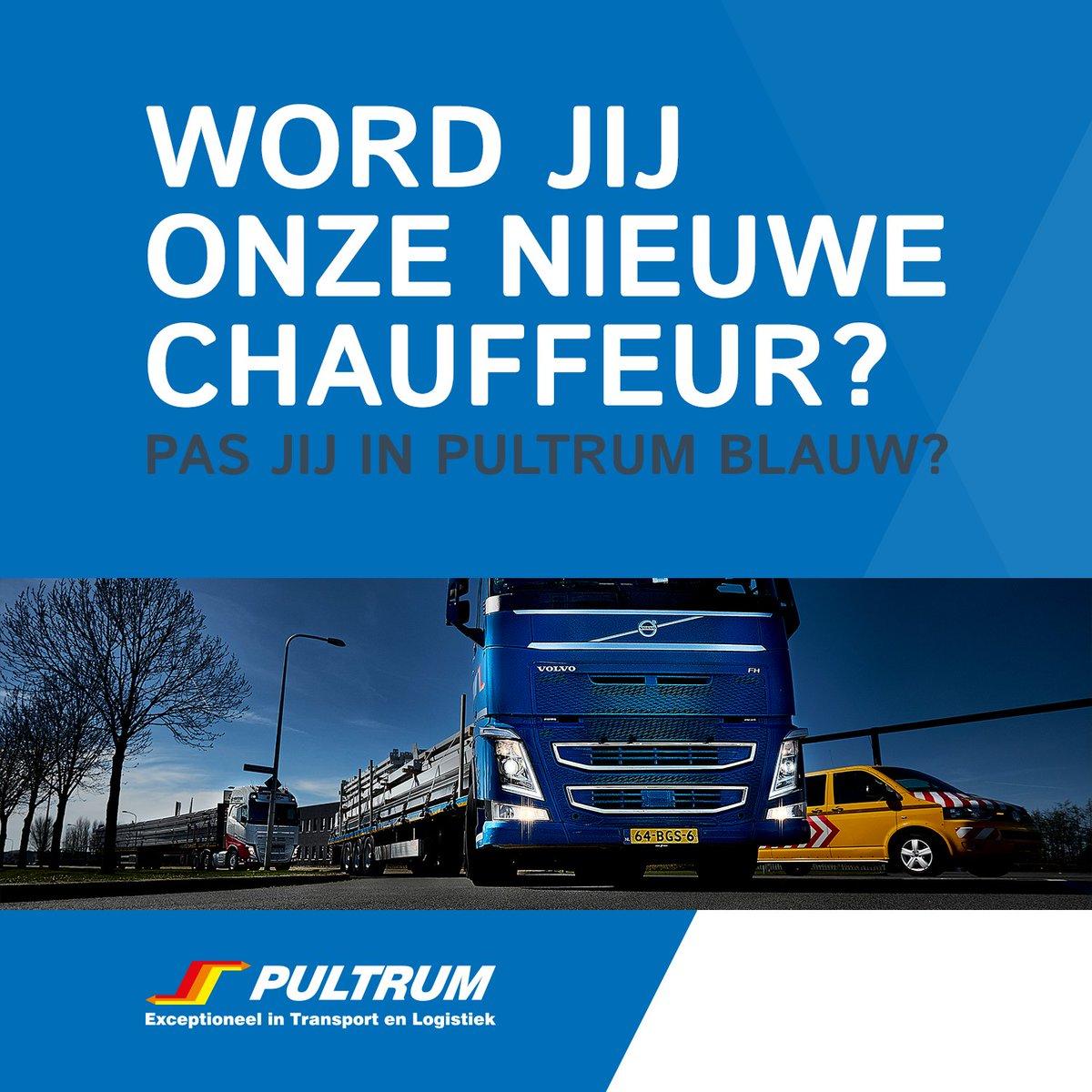 393191b3327bab Ben je een aankomend of ervaren chauffeur en heb je deze gemist  Mail met  Jan Smelt via jan pultrum.com en maak een persoonlijke afspraak!