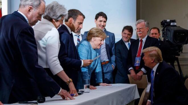 Image result for This viral photo perfectly illustrates Trump's biggest lie