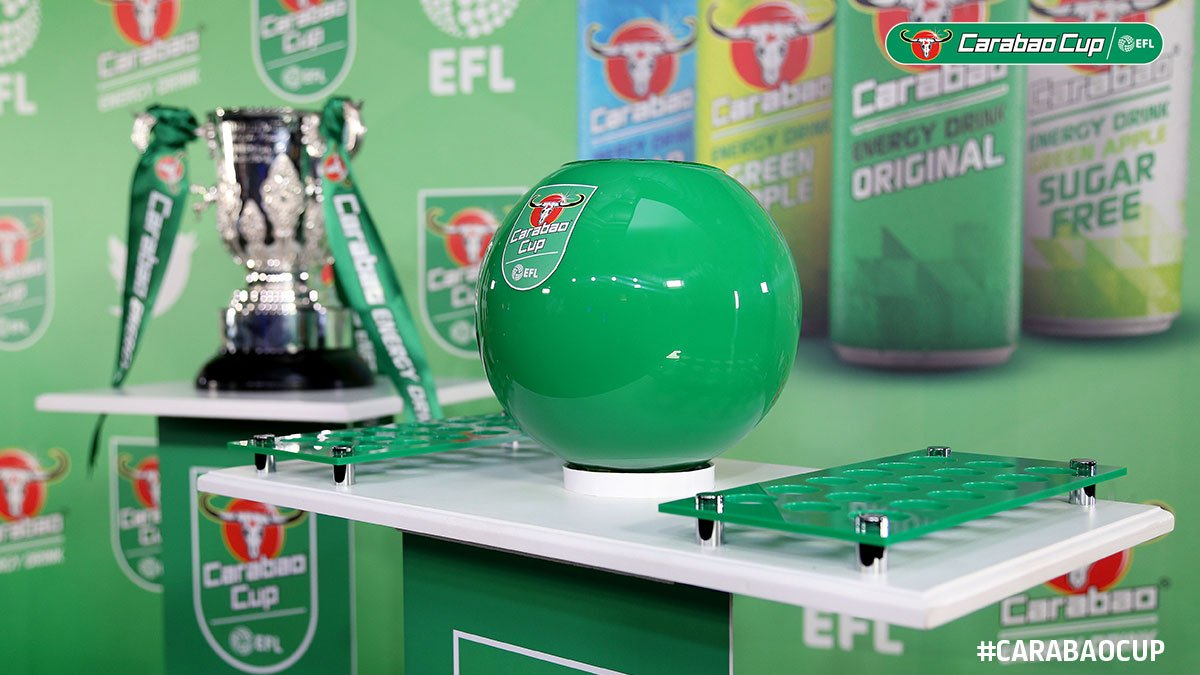 #CarabaoCup: Round One Draw to take place on Friday morning. 🔢 Draw numbers and more information here >> po.st/CCR1Draw
