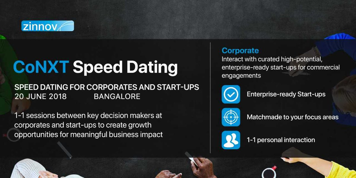 speed dating corporate