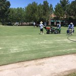Image for the Tweet beginning: Busy day here @TPCSummerlin. #Maintenancemonday