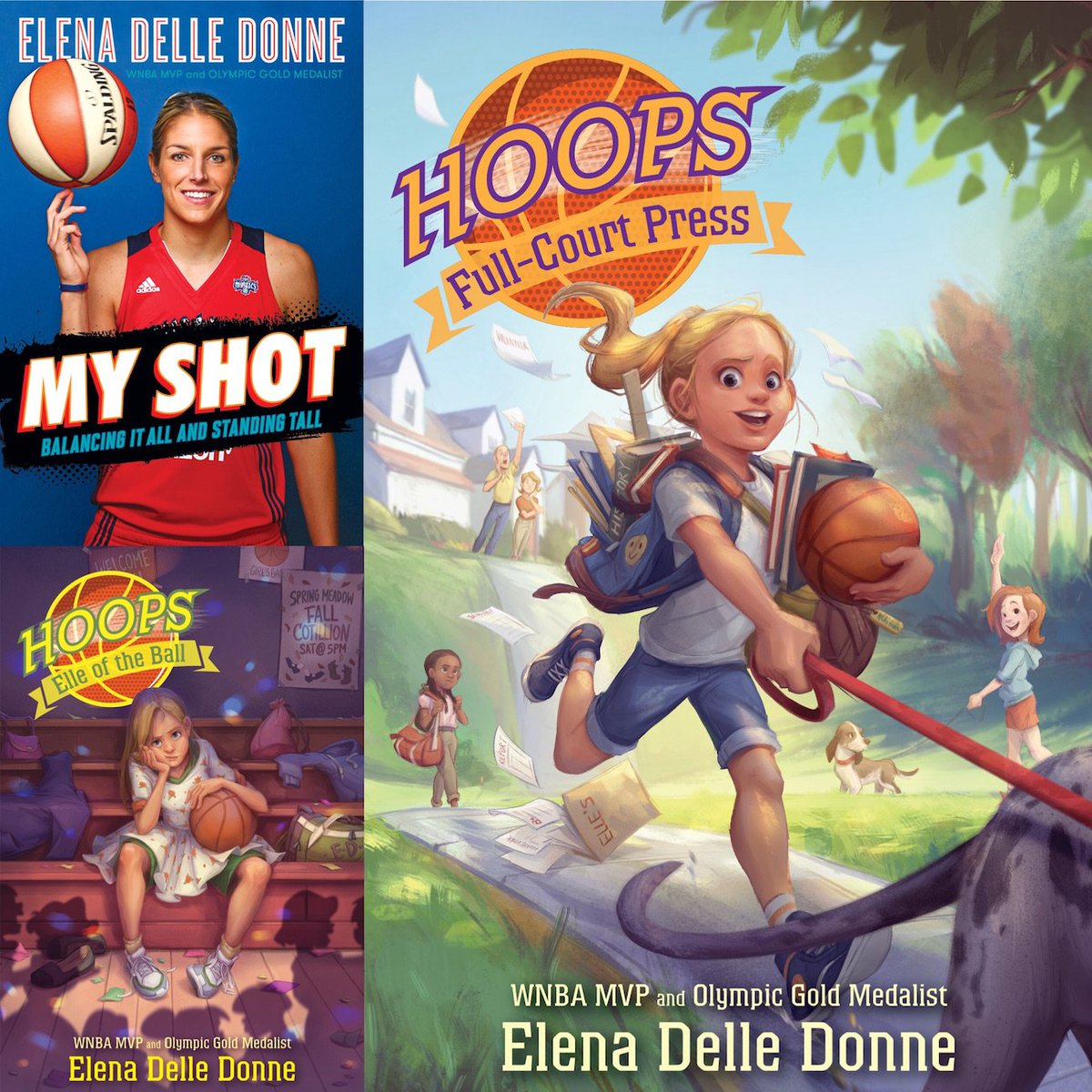 .@De11eDonne publishes her third book for young readers tomorrow with @SimonKIDS! Kid Reporter Ella Nichols asked the @WashMystics star about her career and the advice she has for young players: sikids.com/si-kids/2018/0…