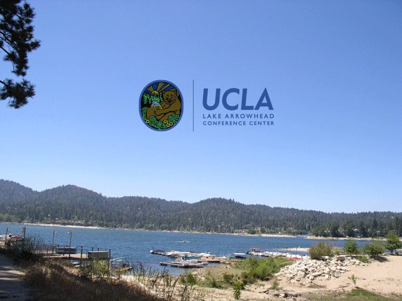 We hope everyone participating in IPAM programs at the Lake Arrowhead Conference Center this week has a productive and enjoyable time!