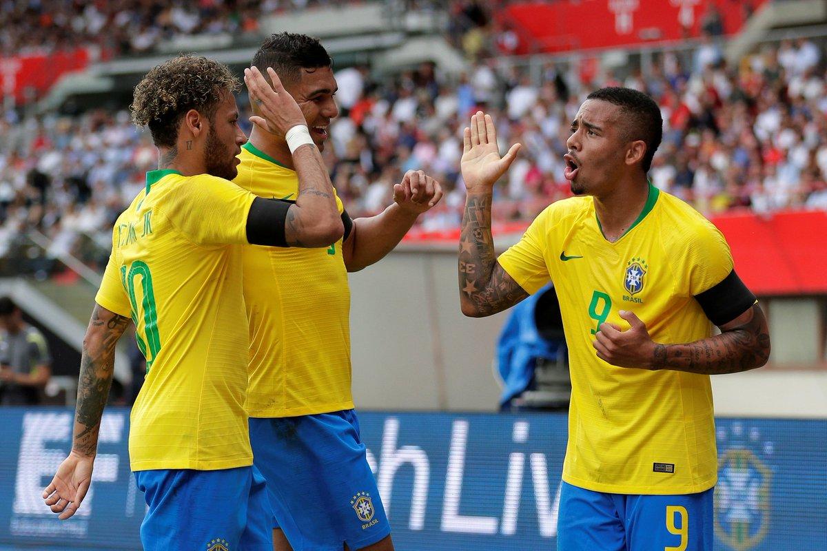Resultado de imagem para Estudo põe Seleção como a terceira mais valiosa da Copa; França no topo da lista