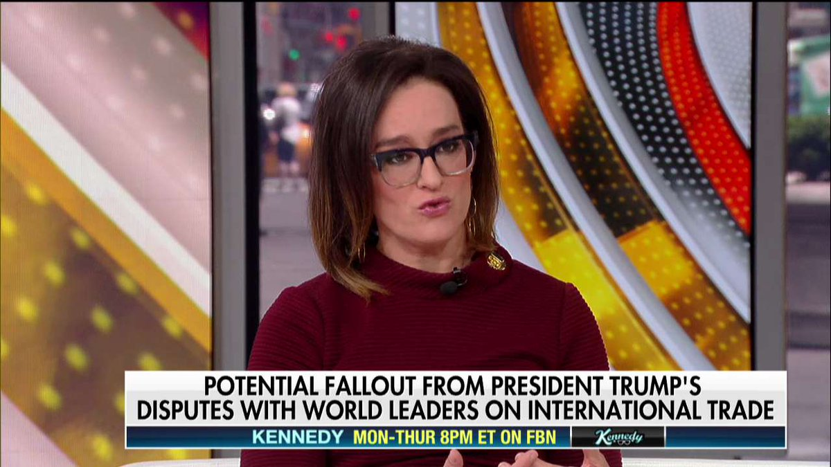 .@KennedyNation: 'I think there's an obsession with trade deficits within this administration.' #Outnumbered