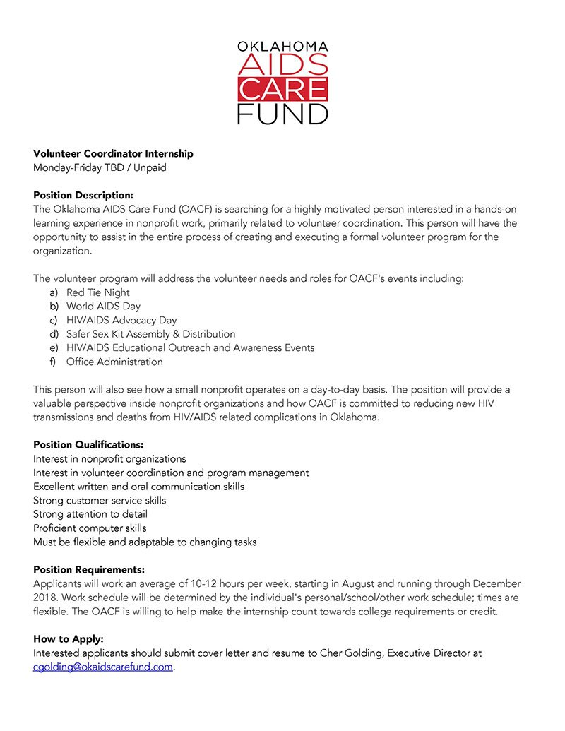 OK AIDS Care Fund در توییتر \