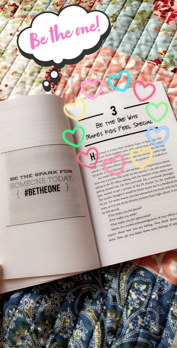 Enjoying this insightful summer read! #BeTheOne #MatzkeProud