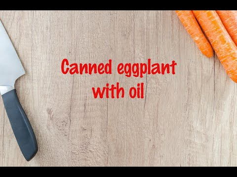 How to cook - Canned eggplant with oil https://t.co/NA0rfOnQ20 https://t.co/LJQbjnyKPD