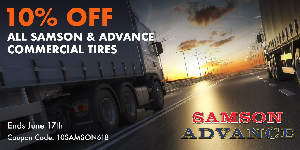 Simpletire Com On Twitter Save 10 On All Samson Commercial Tires