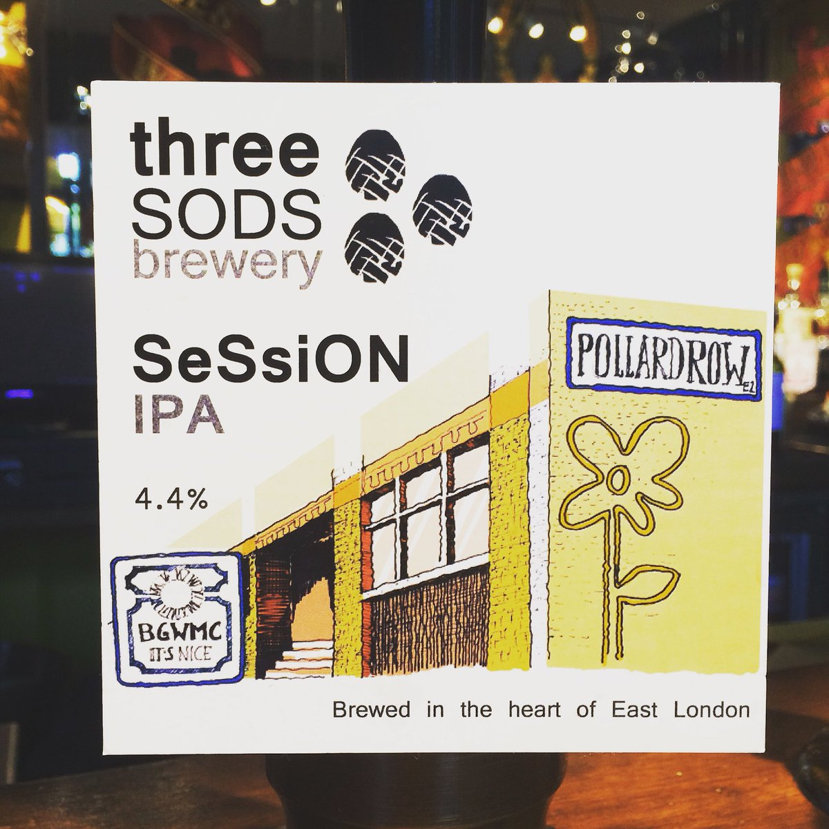 Hey y'all! We've got a new cask from @threesodsbrewery. She's light, she's refreshing and she's downright hoppy! Half price on Mondays! #craftbeernotcrapbeer #plaqueminelock